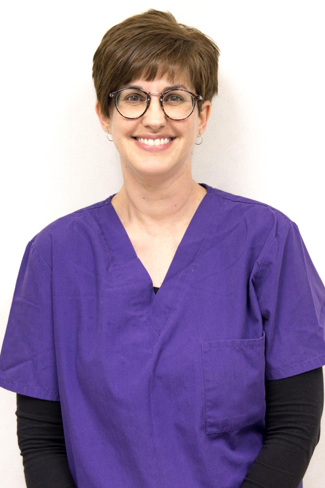 dental assistant - With 26 years of dental experience, Cathy joined the practice of Dr. Edward Amos in 1998. She made the transition to Amos Family Dentistry upon Dr. Edward Amos' retirement. Cathy lives on the Shenandoah River with her family. She enjoys attending her daughters sporting events and those at her alma mater, JMU.