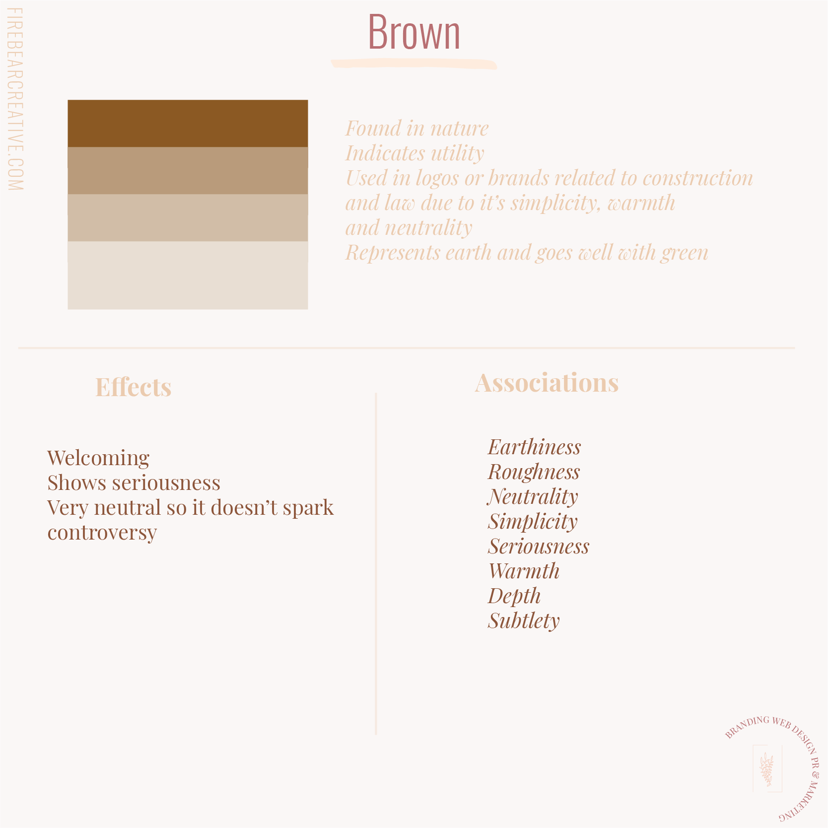 Color Brown