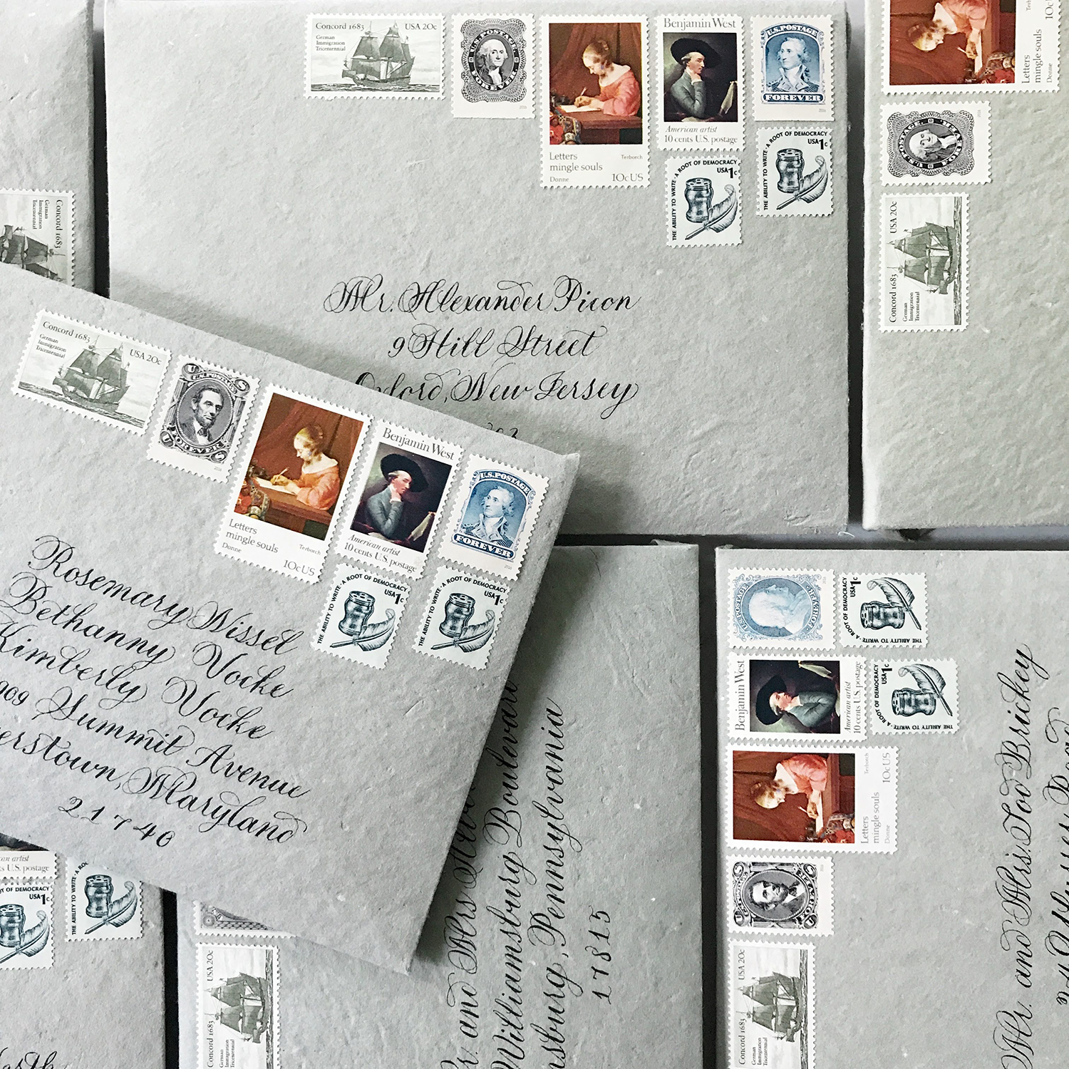 custom-calligraphy-envelope-addressing-by-leslie-and-paper-new-jersey-worldwide-with-curated-vintage-stamps-handmade-paper.jpg