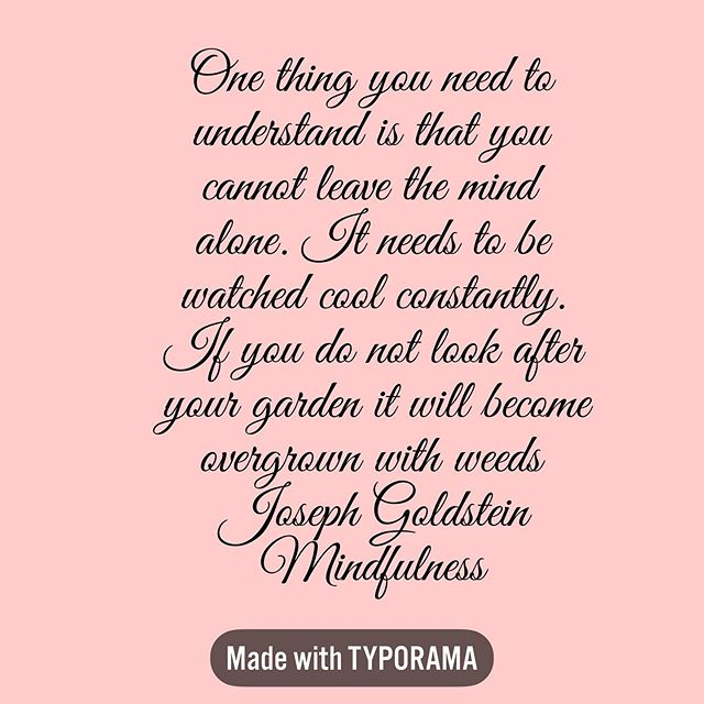 Sinking into the realisation that peace comes with truly embodying that we are more than our thoughts, we are not our emotions. #stressrelief #anxiety #josephgoldstein #josephgoldsteinquotes #insightmeditation #meditation #medirationteacher