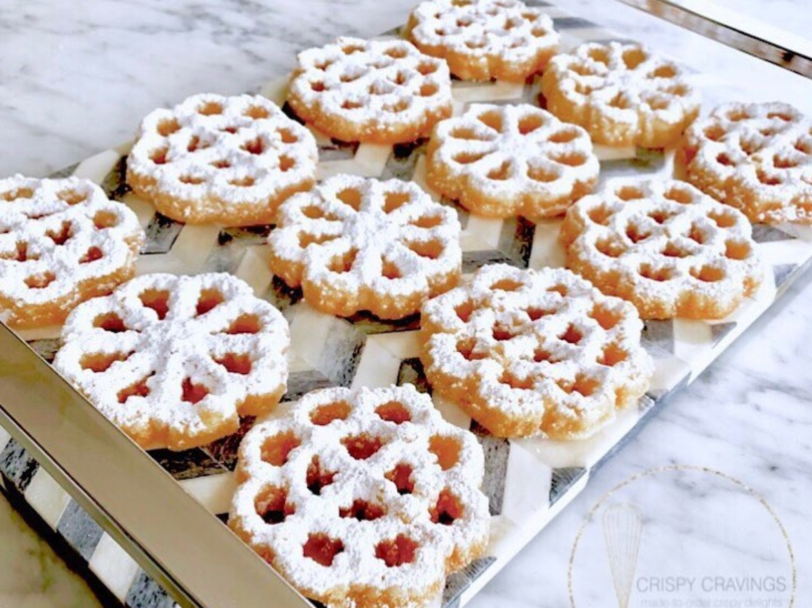 Crispy Cravings - If you like the taste of funnel cakes, you will love these cookies.