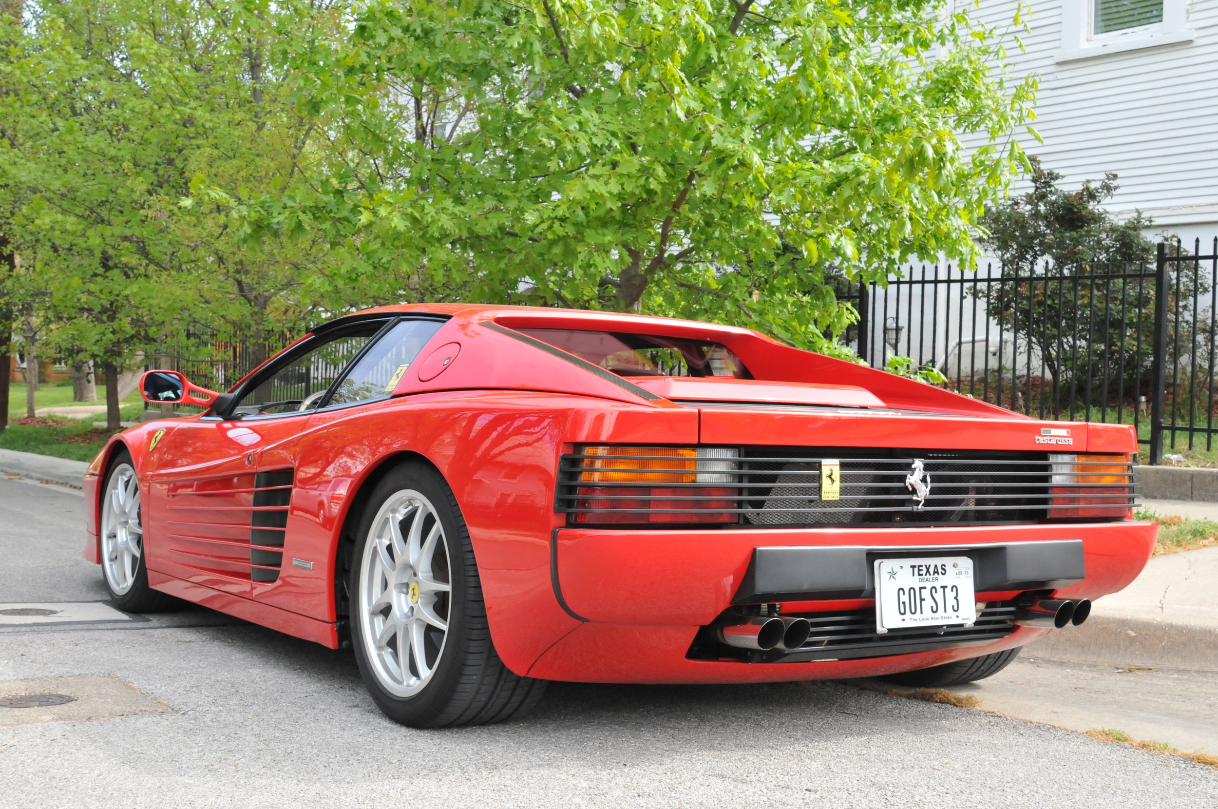 1991 Ferrari Testarossa Gf Motorsports
