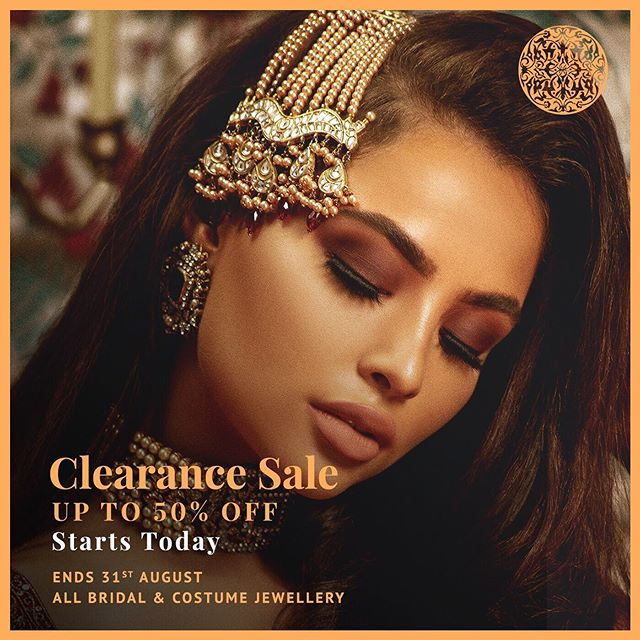 Save up to 50% with our Summer Clearance Sale. Head over to www.heritage-jewels.com to see our offers! Free Delivery on all purchases ✨ (all bridal and costume jewellery, until stocks last)
