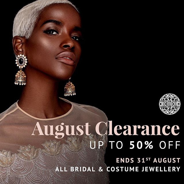 Save up to 50% with our Summer Clearance Sale. Head over to www.heritage-jewels.com to see our offers! Free Delivery on all purchases ✨ (all bridal and costume jewellery, until stocks last)  #sale #jewellerysale #clearance #clearancesale #makeup #weddingset #indianjewellery #bollywoodbridal #beauty #desiwedding #heritagejewels #bride #couture #asianbridal #bridalinspo #weddinginspo #bollywood #jewelleryinspo