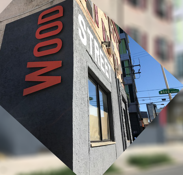 Pretty sure you won't be able to miss our building. Stop by for a bite  325 N. 12th St., Philadelphia, PA.