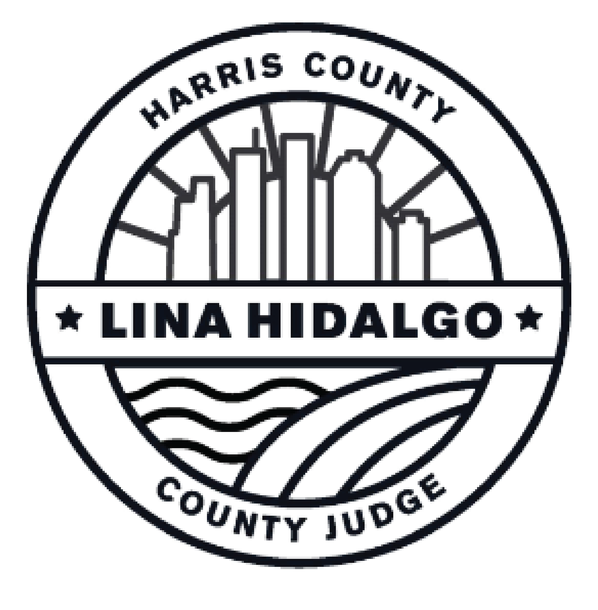 Lina Hidalgo Harris County Judge Logo