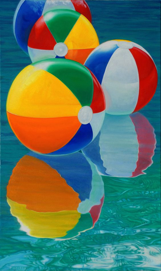 Beach Balls #8, 40x24
