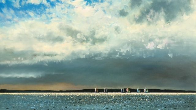 Spinnakers on the Horizon, 39x67