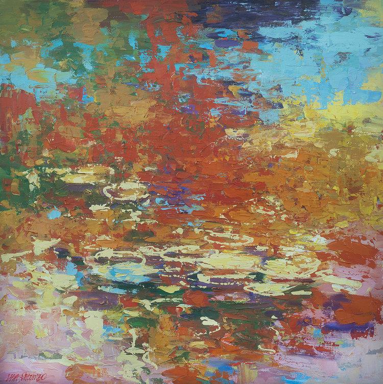 Opalescence, 40x40