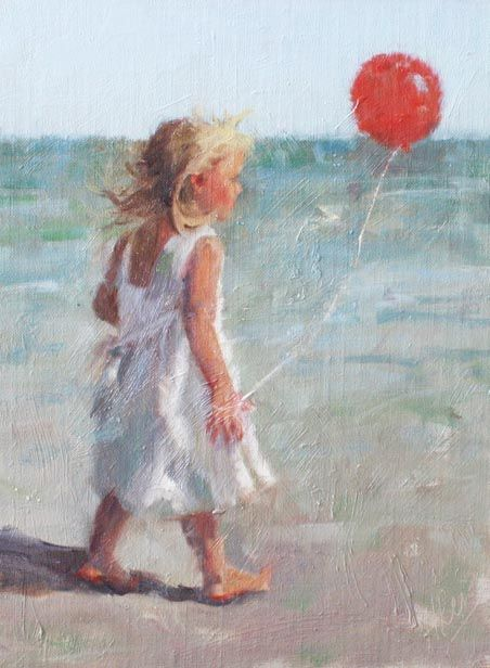 Red Balloon, 12x9