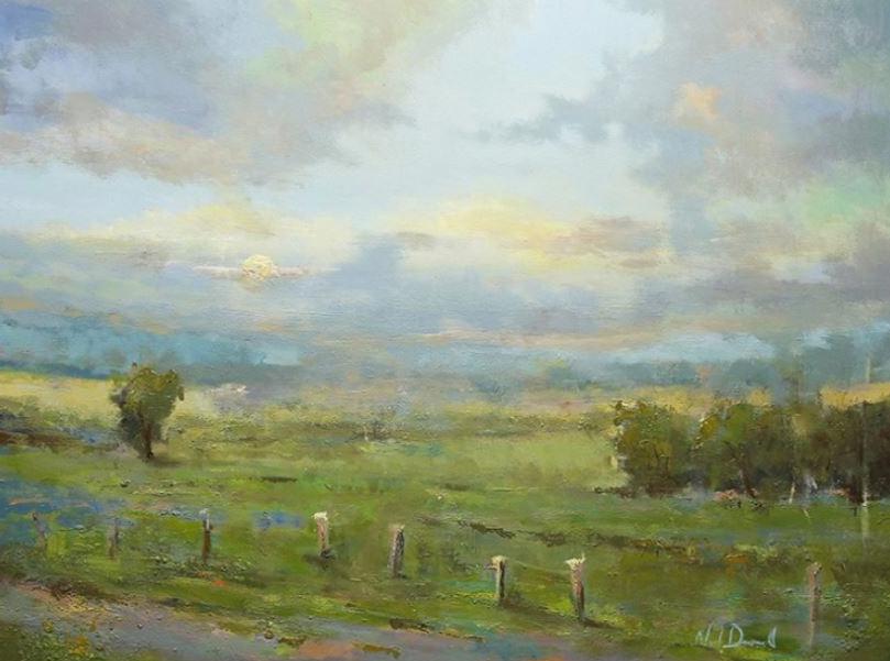 Great Pastures, 48x36