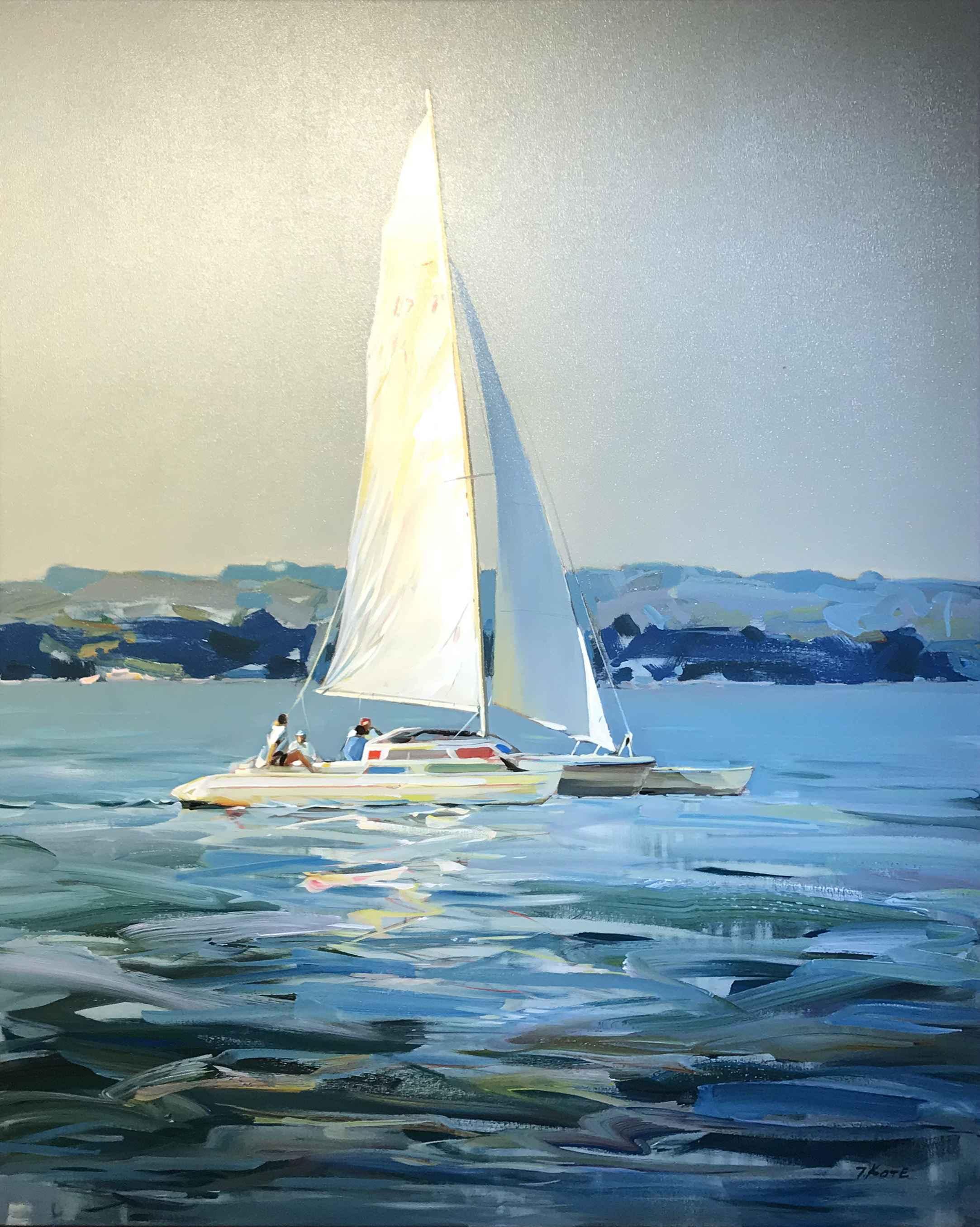 Sail Away, 48x30