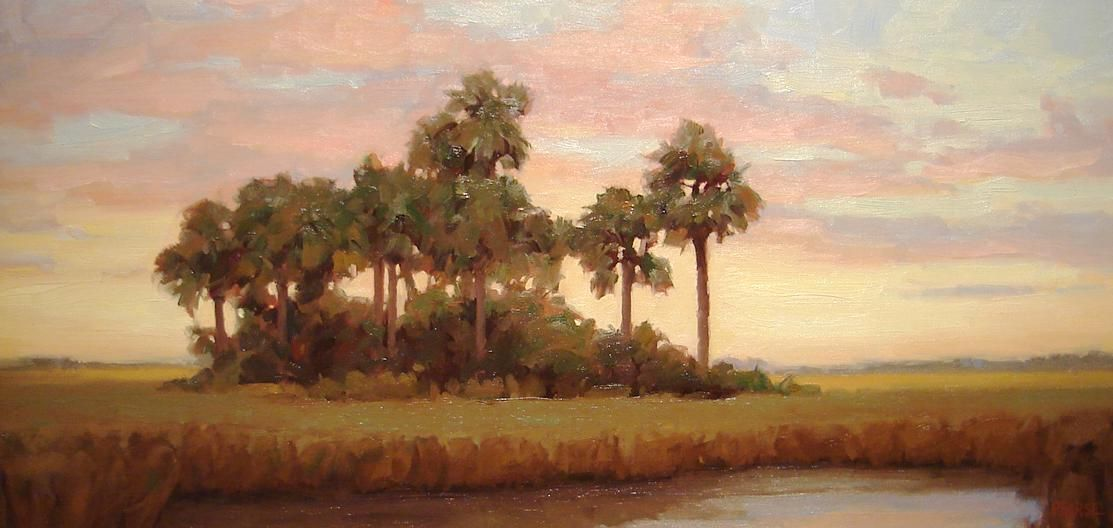 Everglades Sunset, 12x24