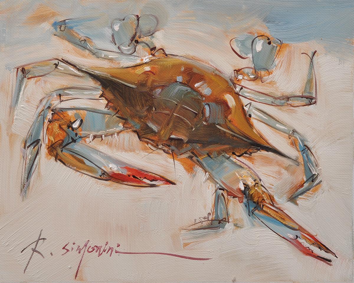 Crab, 8x10