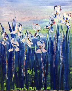 Pretty Flowers, 32x25