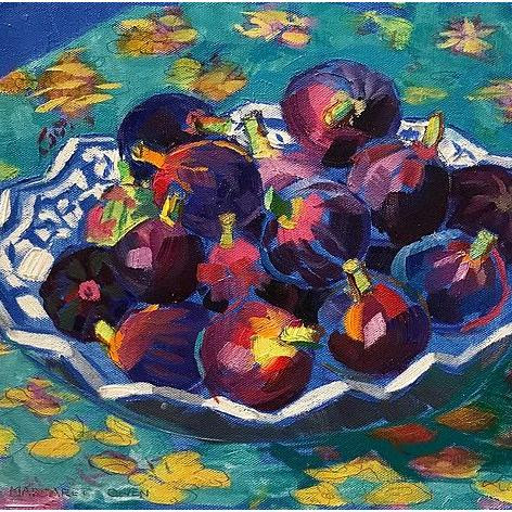 Plate of Figs, 12x12
