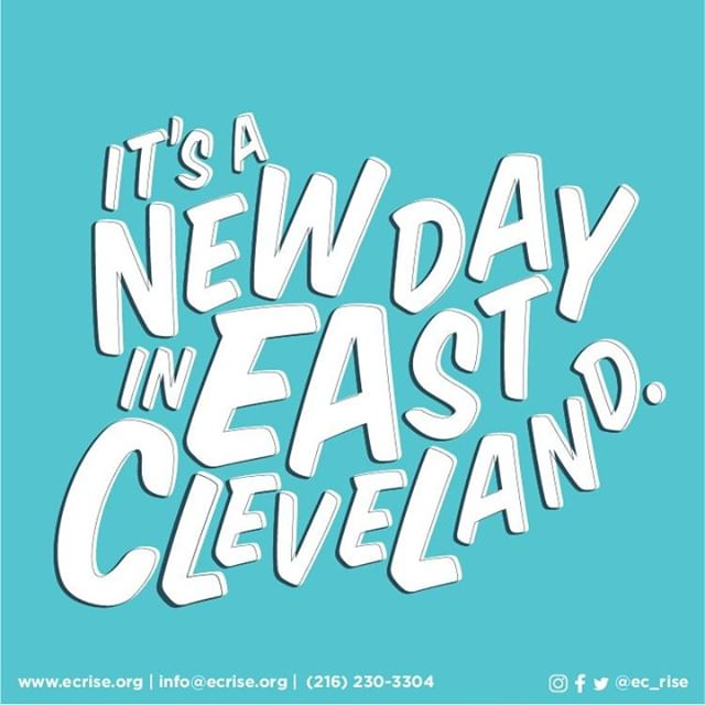 In case you hadn't heard, GOOD MORNING! 😏 #EastCleveland #EastClevelandRISE #HereToStay
