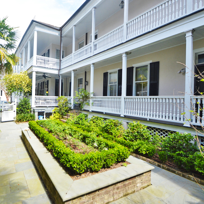 ***   2BD | 2.5BA | 2640SF   • • •  Charleston single style residence with piazzas and garden.  • • •   Unfurnished