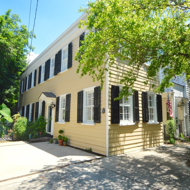 ***   2BD | 2.5BA | 1675SF   • • •  Nineteenth century Charleston single style residence.  • • •   Furnished