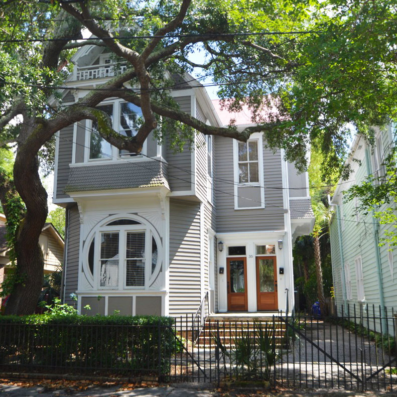 ***   MULTIPLE UNITS   • • •  Two units in remodeled Victorian-style duplex with period features.  • • •   Unfurnished