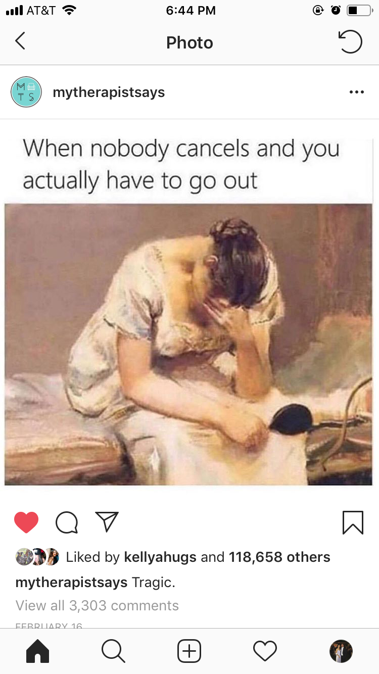 Instagram: @MyTherapistSays