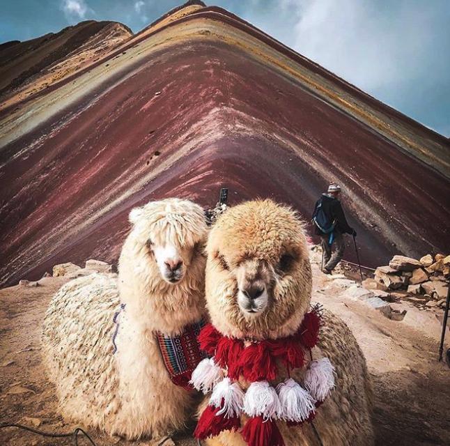Ausangate Mountain on Instagram: Photo credit goes to @peru and @mattiarocchi