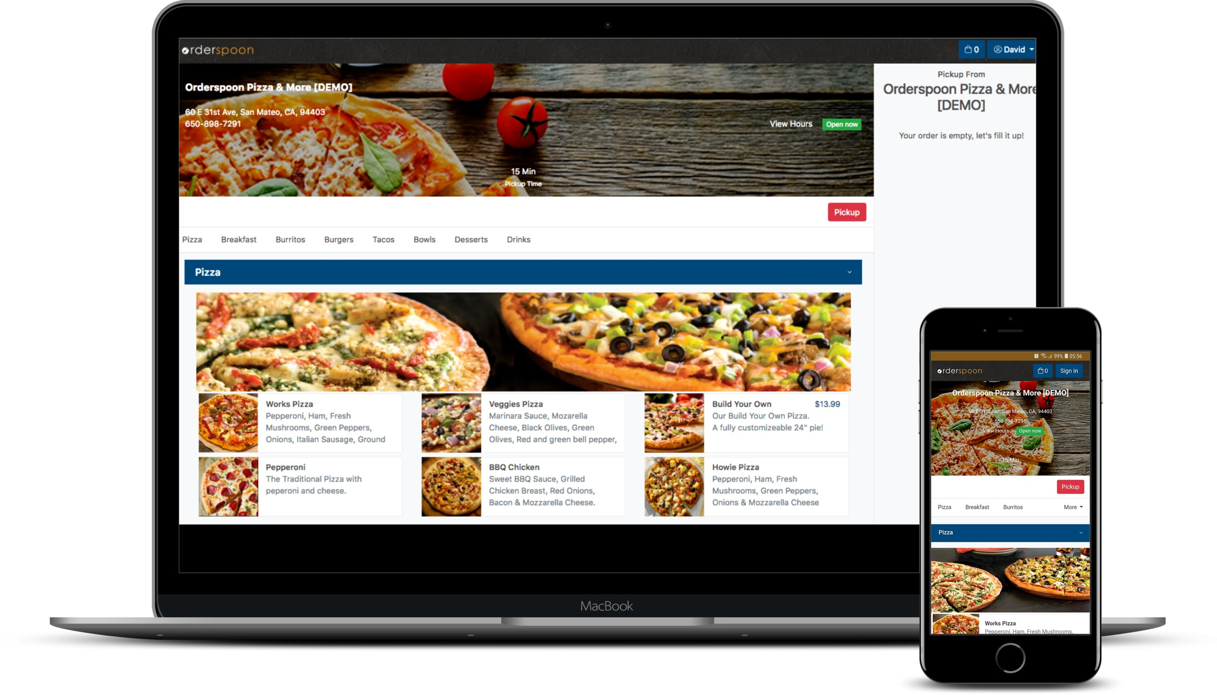 Do Online Ordering Your Way - Keep your customers ordering from your website, Facebook page and custom mobile app. Don't pay hefty commissions. You can even send orders directly to your POS.