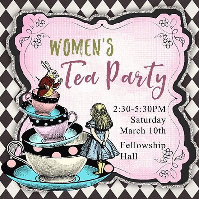 It's not too late to sign up for our Women's Tea Party! Join us tomorrow for a time of praise, fellowship, blessings, food, and games! . . . . . . . #WOH #hopeevents #hopepcsd