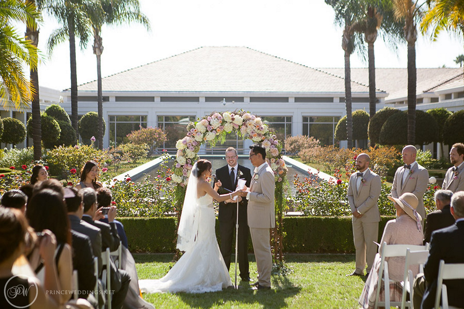 Richard Nixon Library Wedding Photography