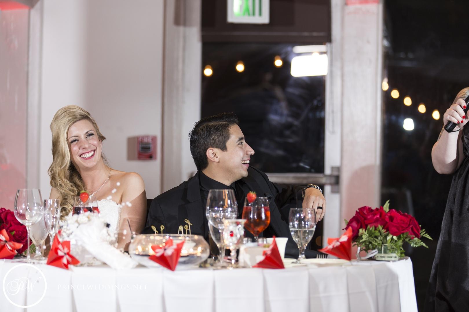 The Odyssey Restaurant Wedding