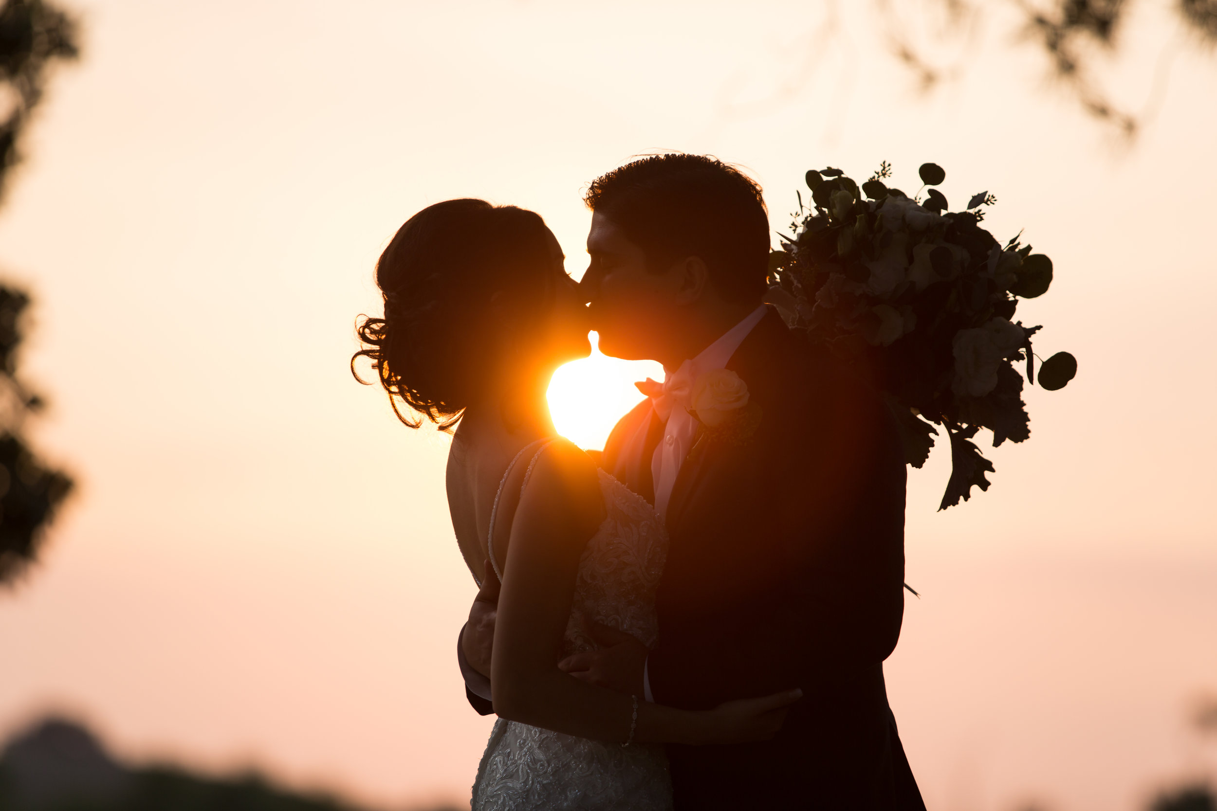 Sunset Wedding Photography at Mountain Meadows
