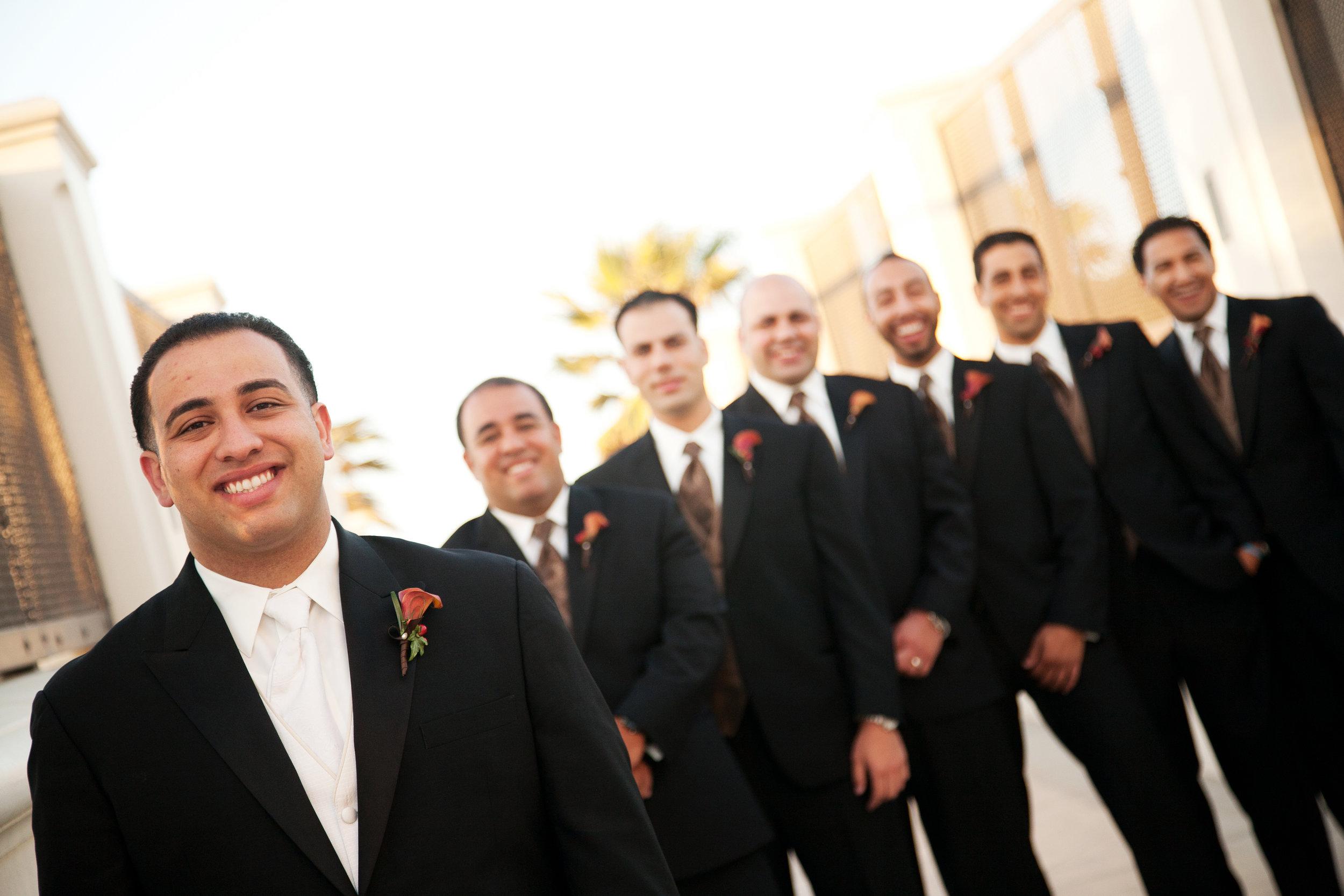 Hyatt Regency Huntington Beach Bridal Party