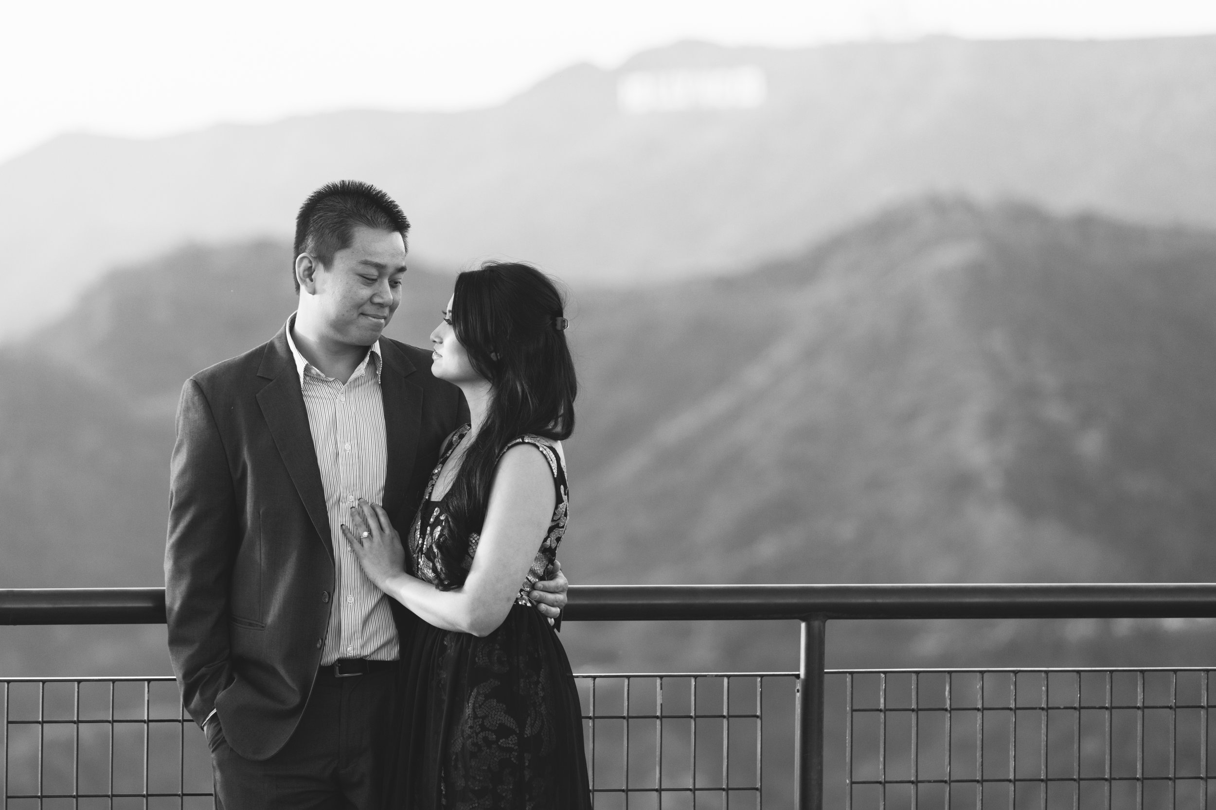 Griffith Observatory Engagement Photos Nicole and Vien-8370.jpg