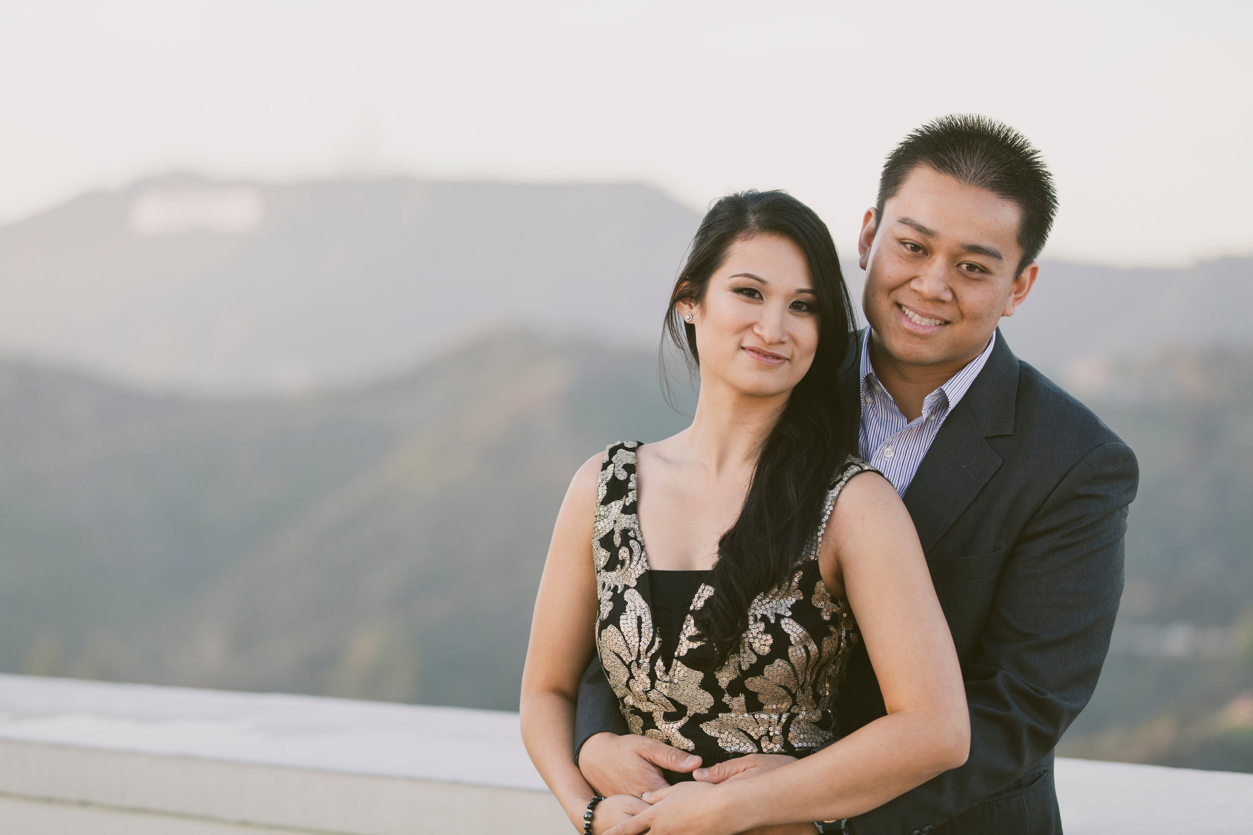 Griffith Observatory Engagement Photos Nicole and Vien-8470.jpg