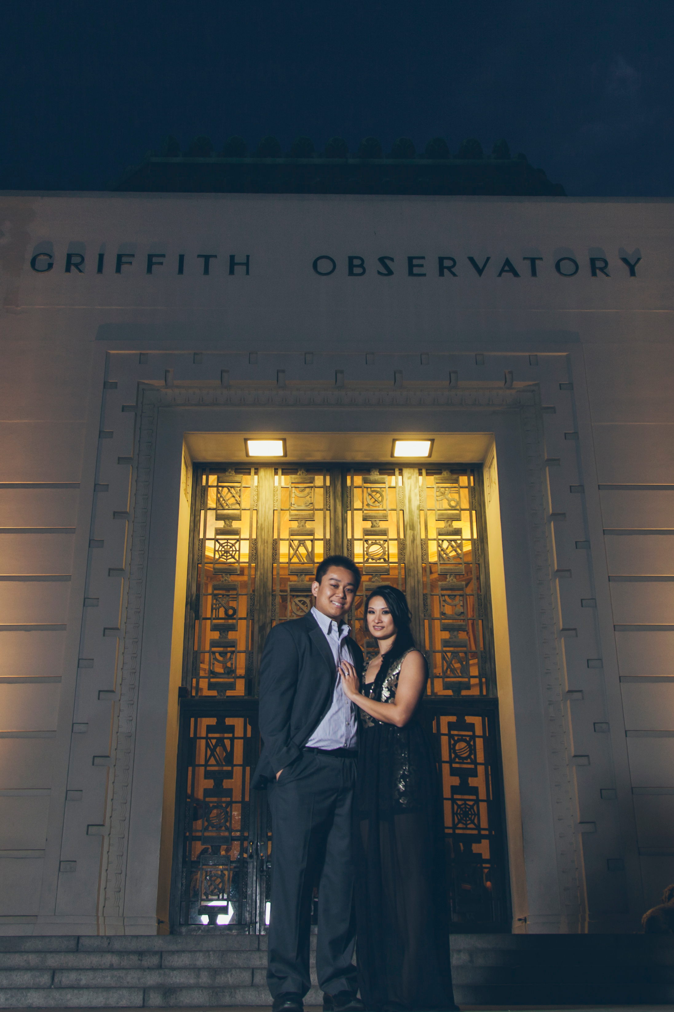 Griffith Observatory Engagement Photos Nicole and Vien-8690.jpg