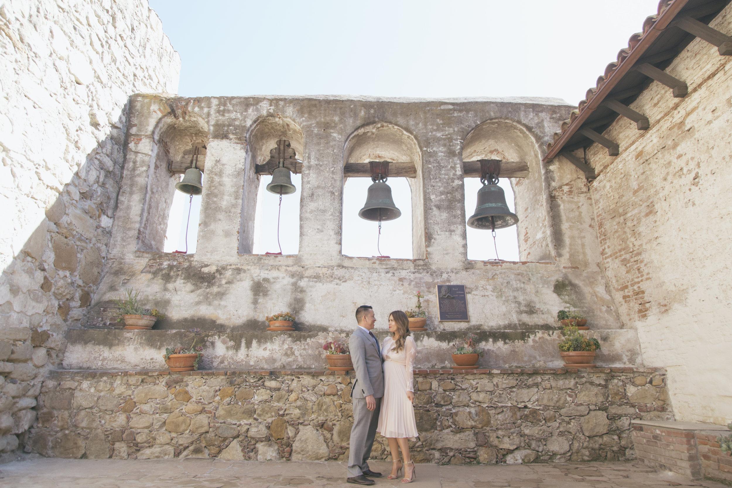 Mission San Juan Capistrano Engagement Photos_ Rex&Linda_HL18.jpg