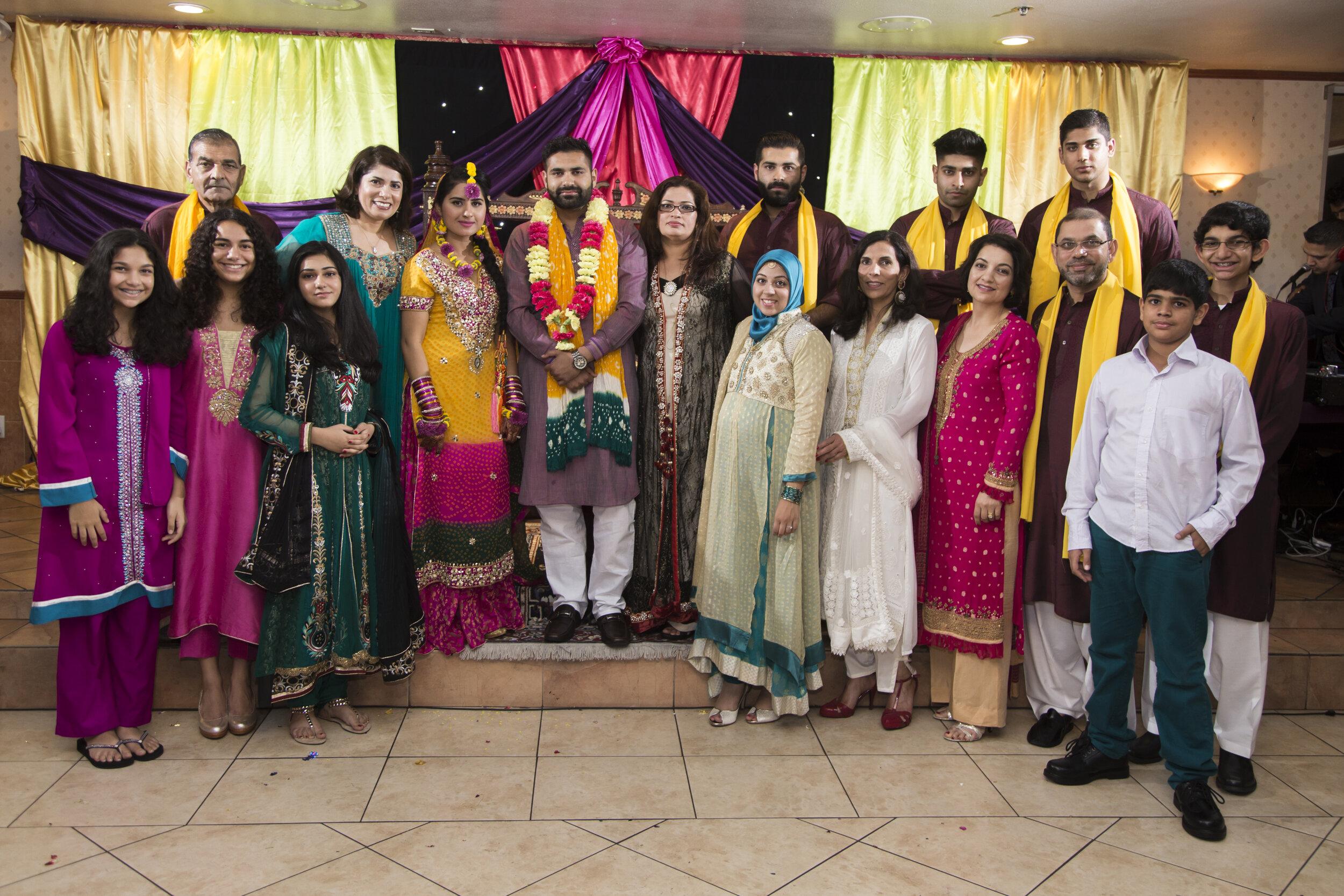 South East Asian Wedding Photo