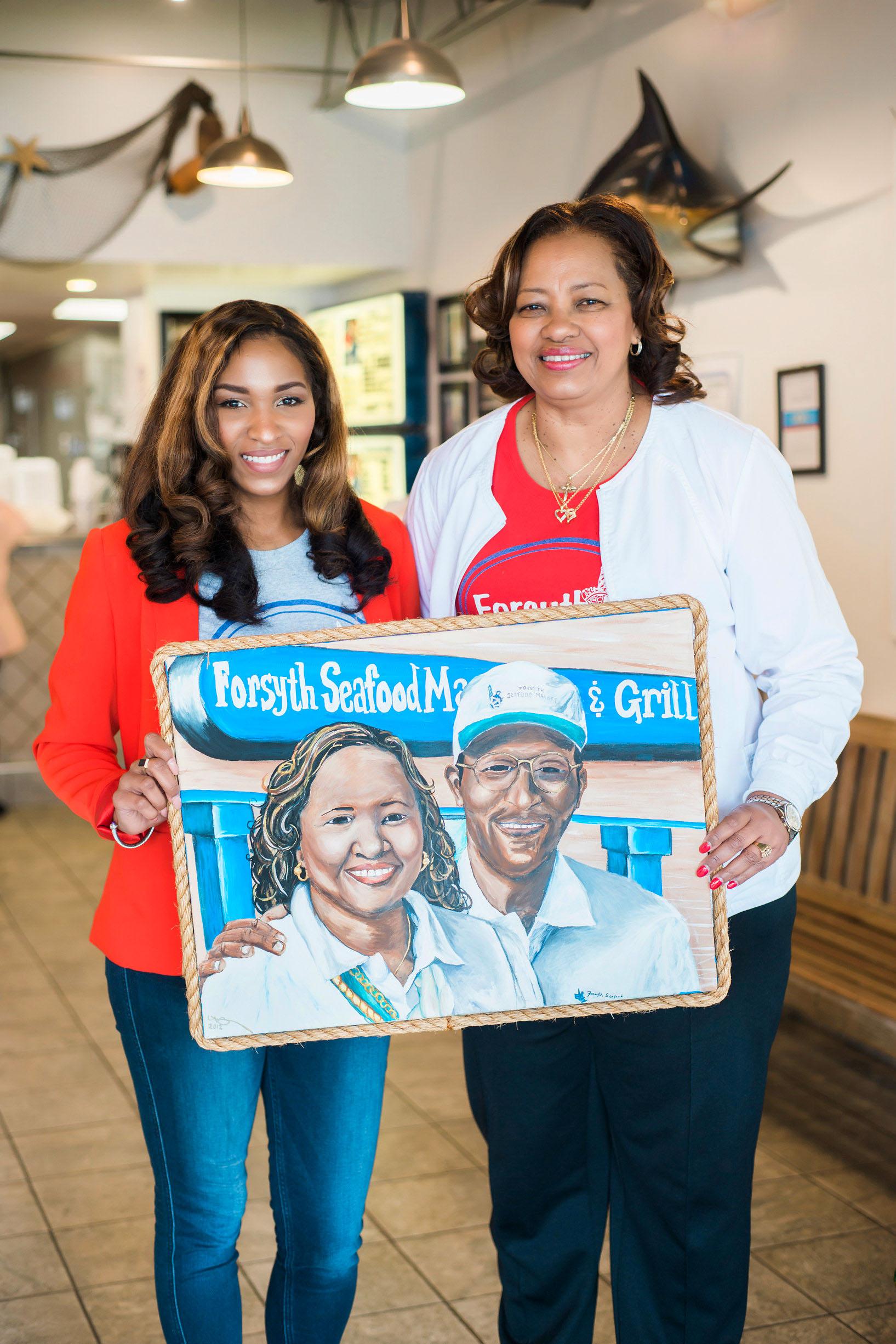 Forsyth Seafood Market and Cafe Winston Salem Ashley  Virginia Hardesty