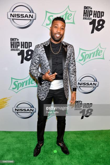 Yonathan Elias at 2018 BET Hip Hop Awards