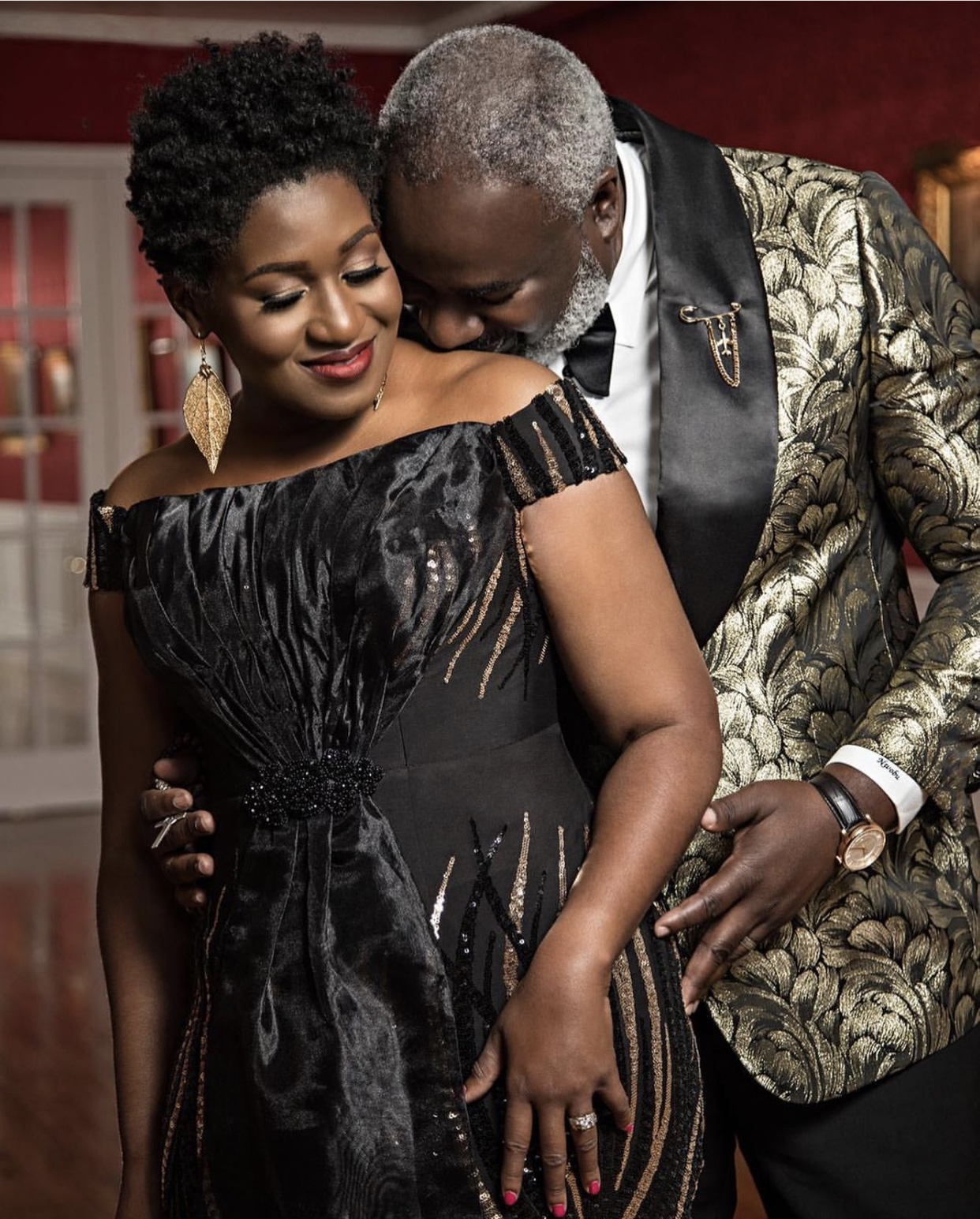 JACKIE NWOBU & CHIKE NWOBU OF MANALUCHI BRIDE