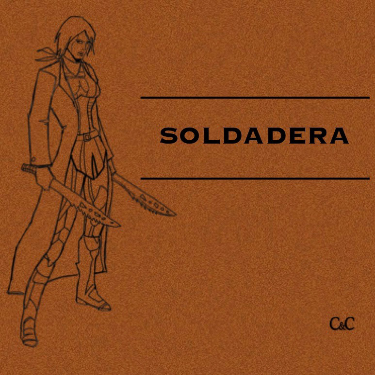 Soldadera - A Latinx superhero podcast set five decades in the future. It is 2069. A Nuevo Conquistador and his powerful partner Marina have conquered what was once South and Central America and are moving to create a new empire. Only Adela, a warrior superhero who embodies the spirit and history of the Soldaderas, can stop them. Ten-episode serial drama.Soldadera stars Claudia Dolph as Adela, Crissy Guerrero as Marina, Gustavo Rex as Marcos, and Denise Blasor as Doña Aitana.Promotional trailer available. Soldadera is in development for 2019 production.