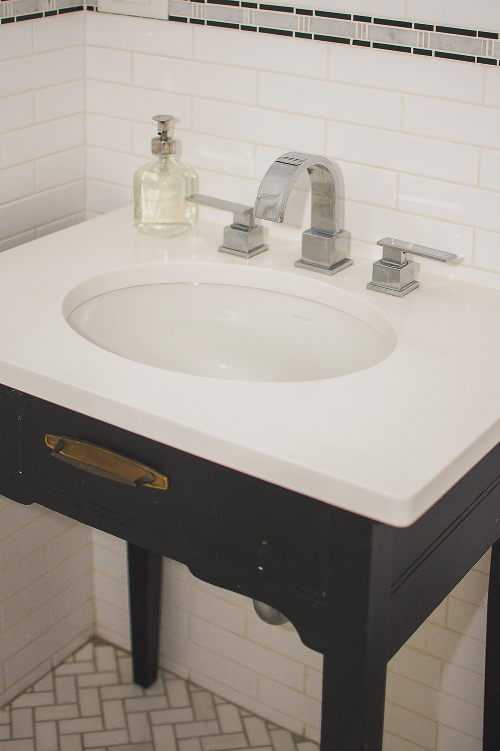 p squared away bathroom project photo