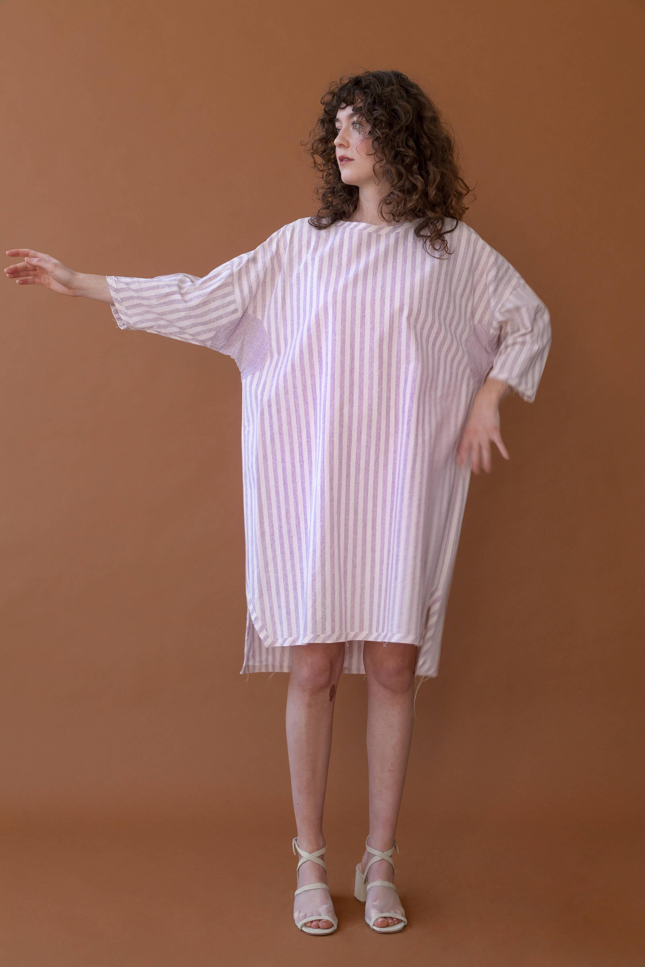 Benjamin Dress Stripe $275