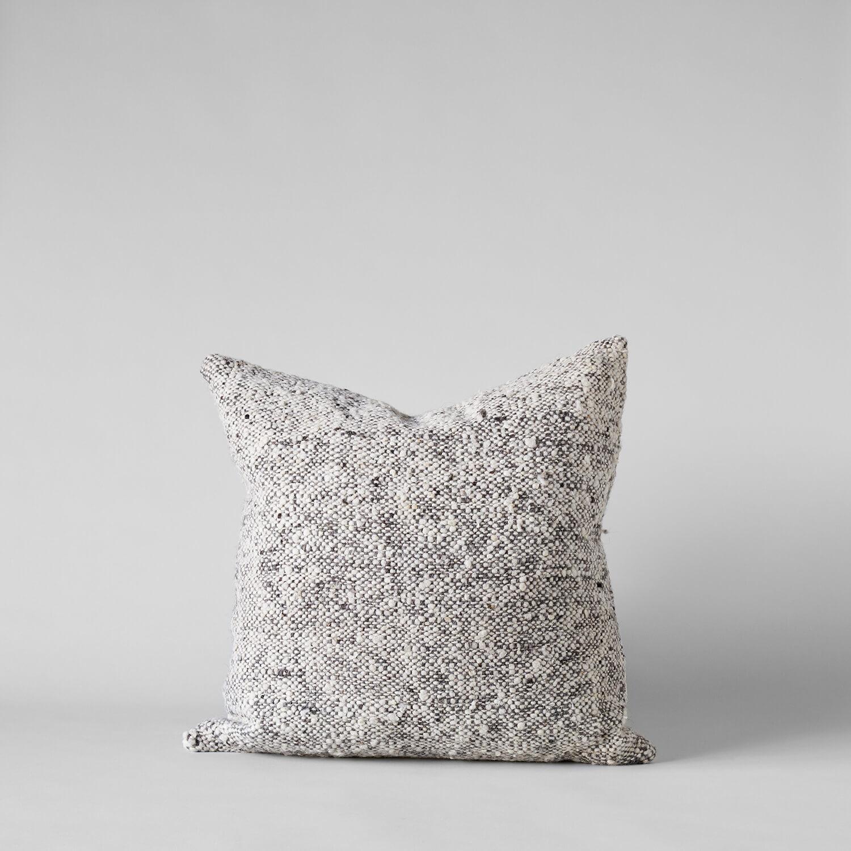 Textured Brown Tweed Pillow, 20x20 $98