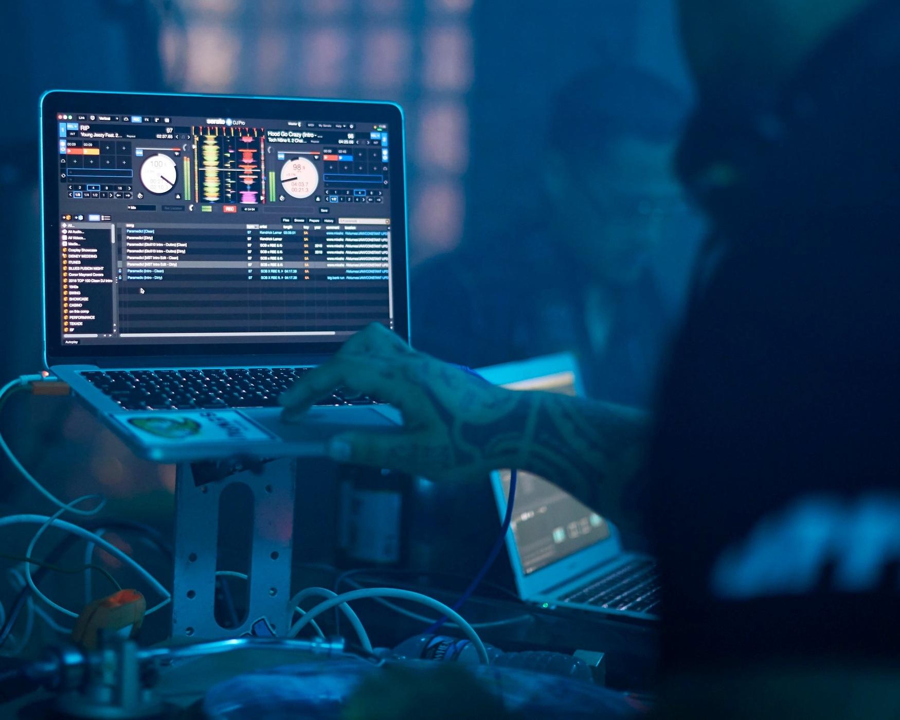 Disc Jockey - A sampling of our DJ Sound System