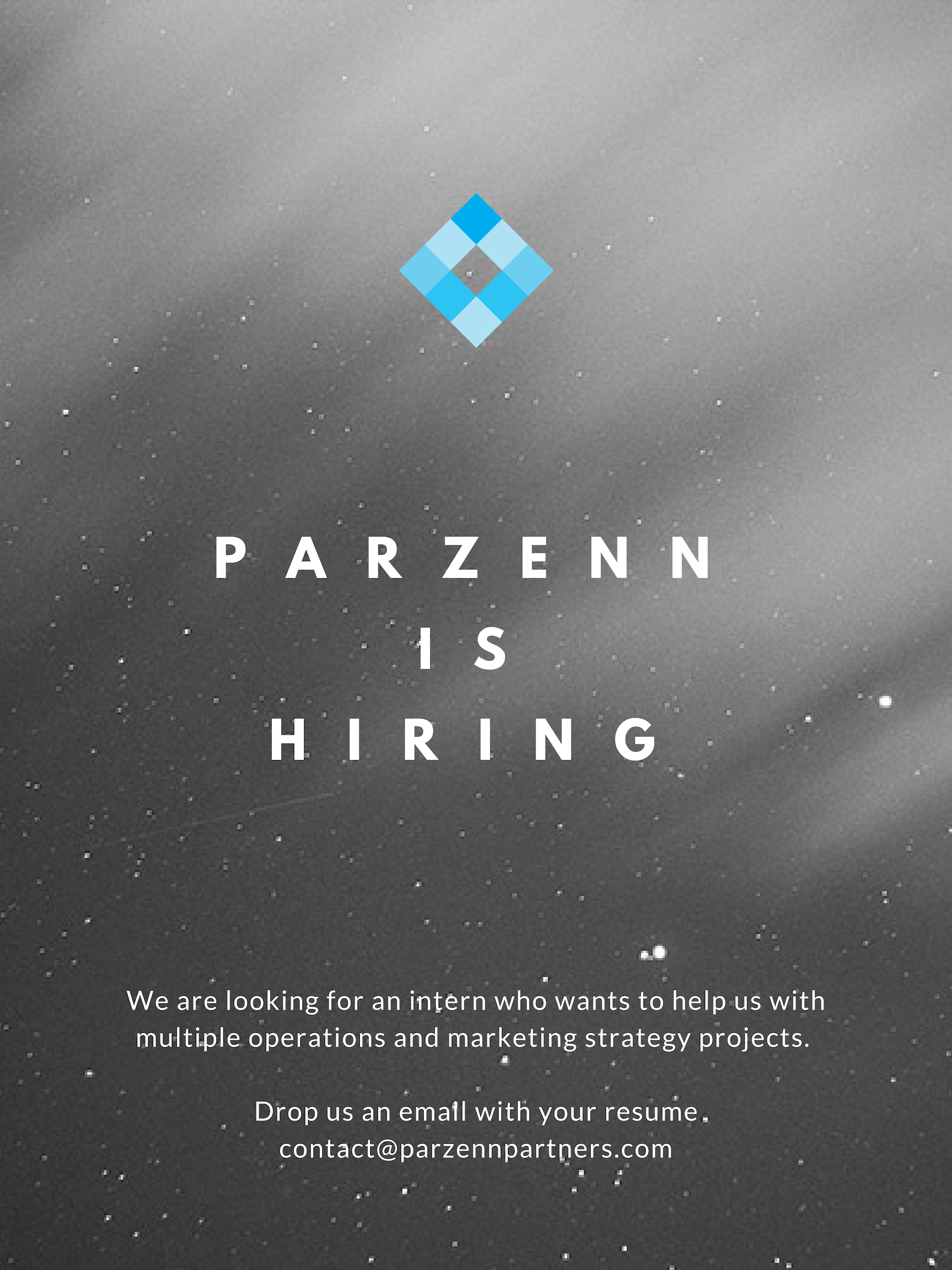 Looking for an exciting career in a fast growing consulting firm with a wide variety of projects ? - Drop us an email with your resume