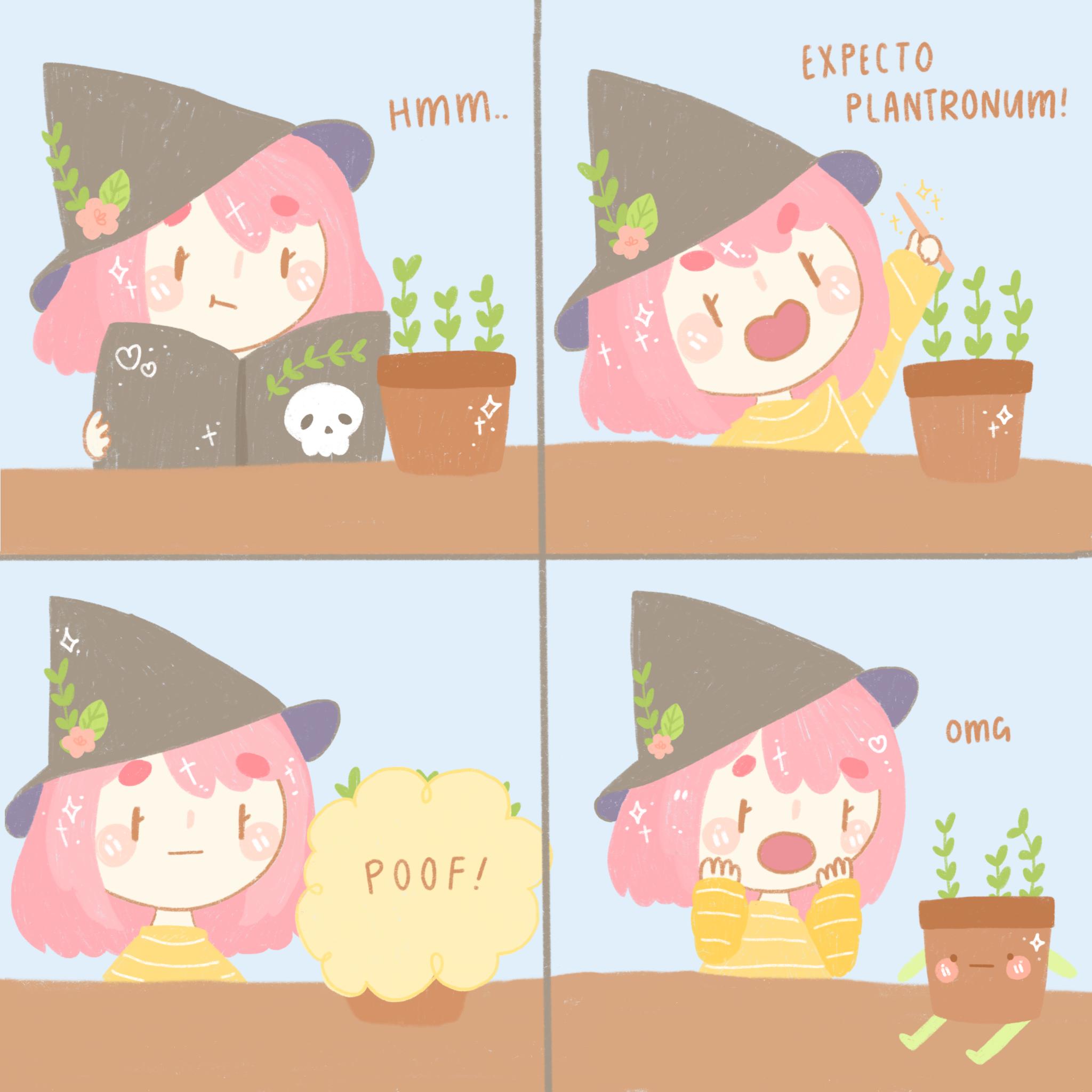 PlantWitchComic
