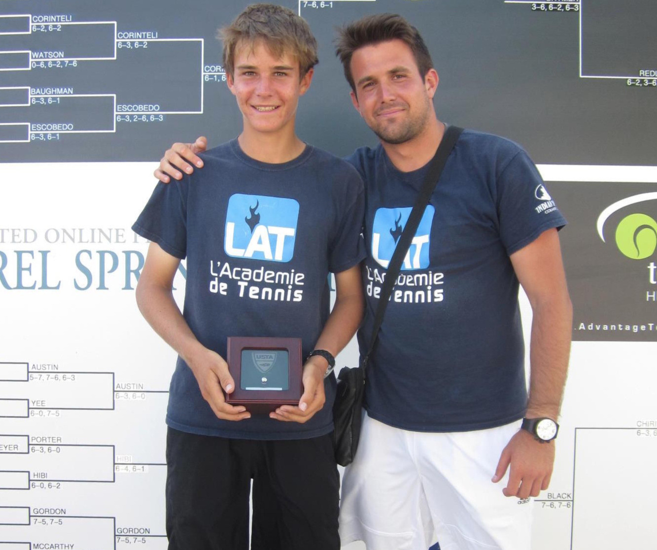 Harvard university - Jean Thirouin (Houston, Texas)Blue-Chip Recruit - #9 on TennisRecruiting#272 ITF World Junior RankingCoca-Cola ITF Tournament - Singles Champion