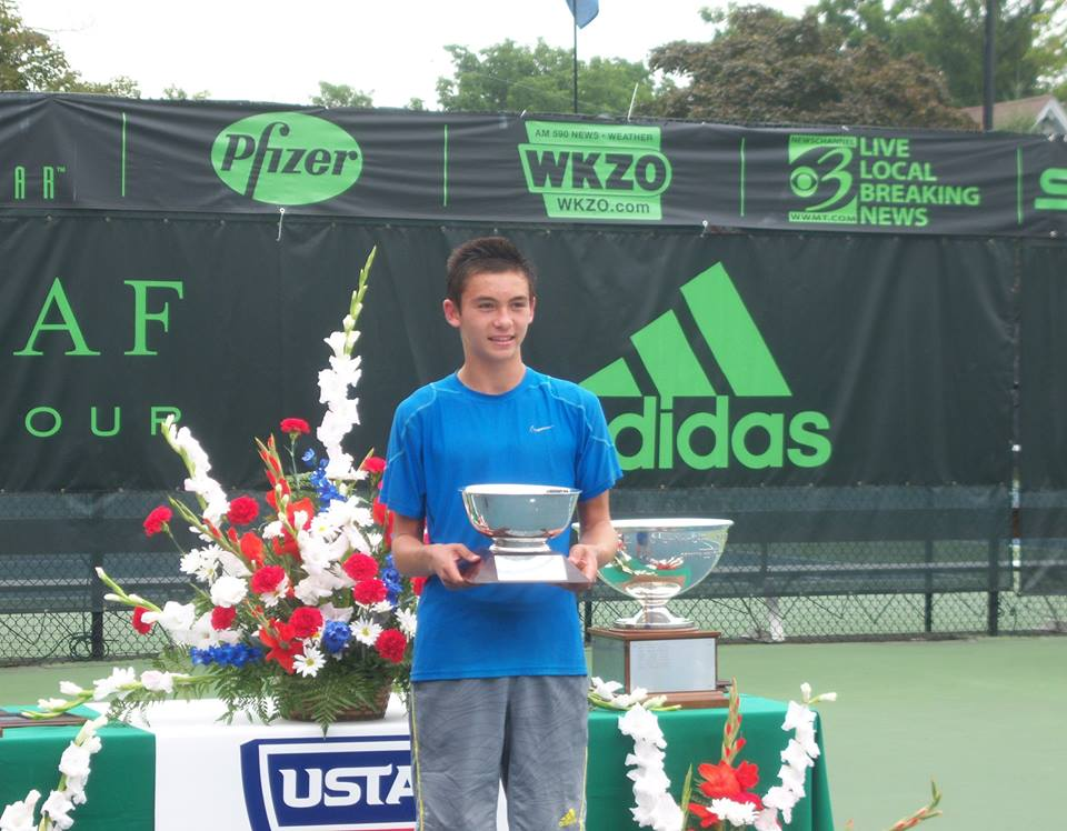 wake forest univ. - Sean Hill (Berkeley, California)Blue-Chip Recruit - #4 on TennisRecruitingUSTA National Hardcourts (Kalamaz00) - 5th PlaceBarbados Scotia Bank Junior ITF - Champion