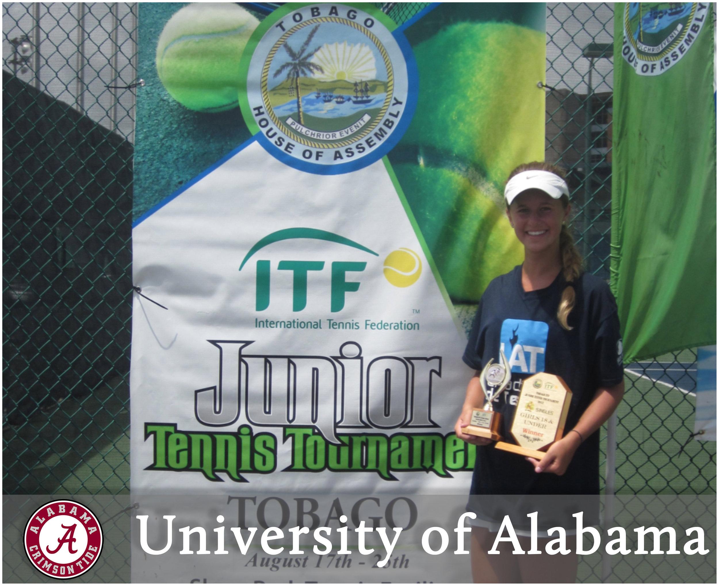 - Maddie Pothoff (Tucson, Arizona)Blue-Chip Recruit - #10 on TennisRecruiting#251 ITF World Junior RankingUSTA National Clay Court - Doubles ChampionNCAA D1 National Championship - Doubles Finalist